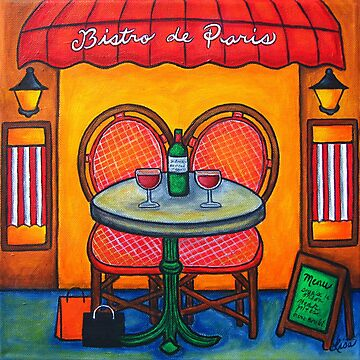 Table for Two in Paris by LisaLorenz
