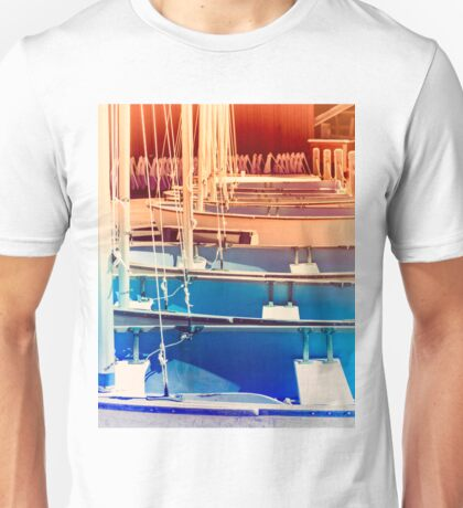 Small Boat Space Unisex T-Shirt