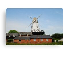 Traditional windmill, Rye Canvas Print