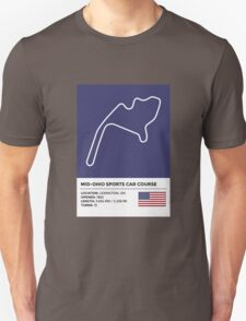 Mid-Ohio Sports Car Course T-Shirt
