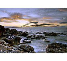Golden Firth Photographic Print