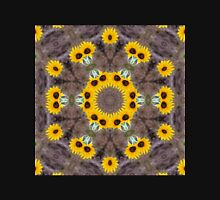 Beautiful Sunflower Kaleidoscope Unisex T-Shirt