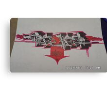 ReoneR wildstyle Canvas Print