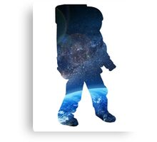 Space Man  - Astronaut Abstract Canvas Print