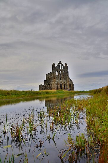 Yorkshire: Whitby Abbey Reflections. by Rob Parsons