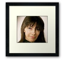 Ada !  for me this is the loveliest image & miracle lens Canon 85 mm f/1.2 . by Brown Sugar. Views (221) favorited by (5) thank you friends :) Framed Print