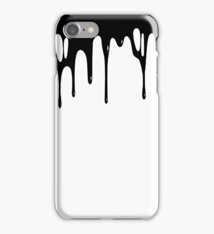 BLACK DRIPPAGE iPhone Case/Skin