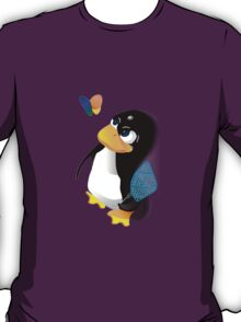 What are you doing, Tux? T-Shirt