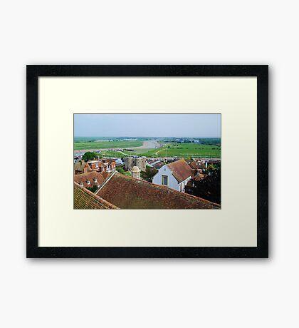 Rye town, East Sussex Framed Print