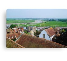 Rye town, East Sussex Canvas Print