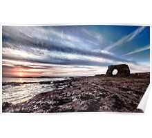 Whitburn Sunrise HDR Poster
