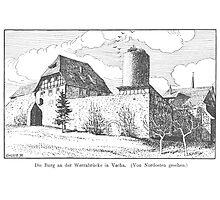 Georg Lilie Vacha Burg Photographic Print