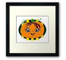 Happy Halloween Smile To You Framed Print