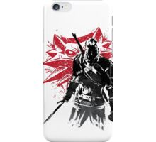 The Witcher sumi-e iPhone Case/Skin