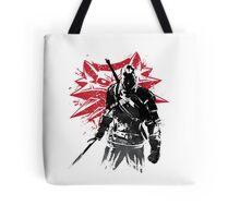 The Witcher sumi-e Tote Bag