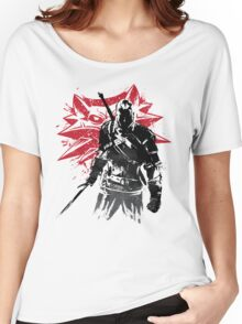 The Witcher sumi-e Women's Relaxed Fit T-Shirt