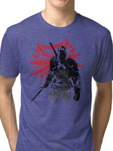 The Witcher sumi-e Tri-blend T-Shirt