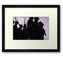 Into Battle Framed Print