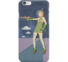 Space  Girl 3 iPhone Case/Skin