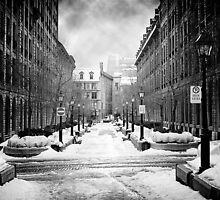 Rue-Le-Royer, Montreal by Paul Kepron