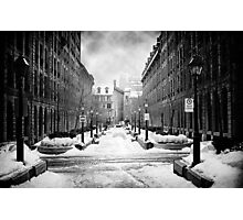 Rue-Le-Royer, Montreal Photographic Print