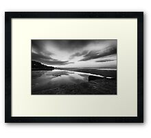 Reflections (Part 2) B&W Framed Print
