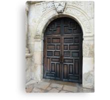 Door of the Alamo Canvas Print