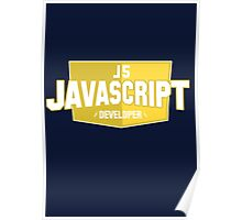 javascript developer Poster