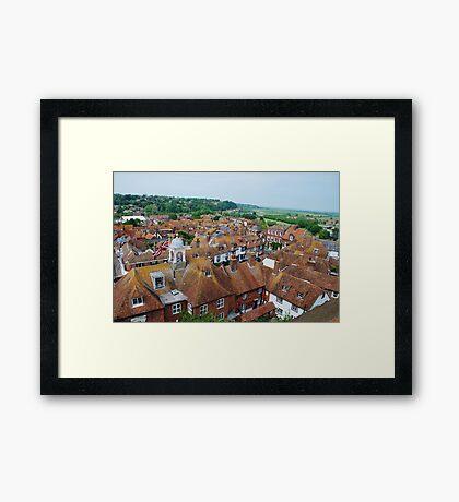 Historic Rye, East Sussex Framed Print