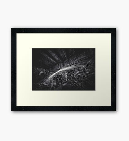 The Digital Underworld Framed Print