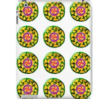 ethnic pattern green iPad Case/Skin