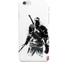 The Witcher sumi-e V2 iPhone Case/Skin