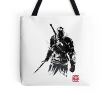The Witcher sumi-e V2 Tote Bag