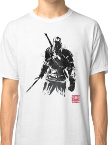 The Witcher sumi-e V2 Classic T-Shirt