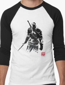 The Witcher sumi-e V2 Men's Baseball ¾ T-Shirt