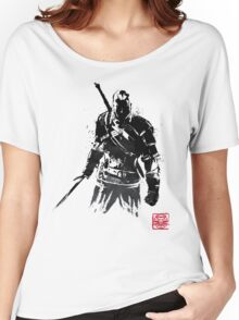 The Witcher sumi-e V2 Women's Relaxed Fit T-Shirt