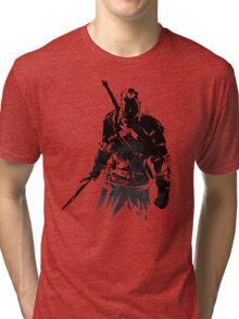 The Witcher sumi-e V2 Tri-blend T-Shirt