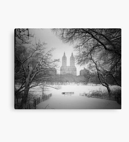 Central Park - Winter Wonderland Canvas Print