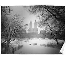 Central Park - Winter Wonderland Poster