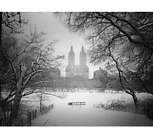 Central Park - Winter Wonderland Photographic Print