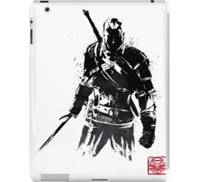 The Witcher sumi-e V2 iPad Case/Skin