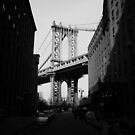 Manhattan Bridge - Brooklyn - New York City by Vivienne Gucwa