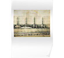 Cement silos  Poster