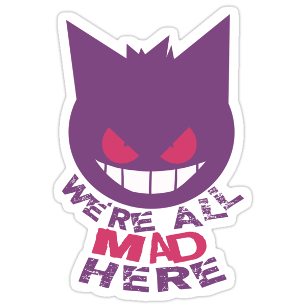 Gengar Cheshire Cat by Valhalla Halvorson