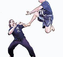 Martial Arts HDR by Ann Barnes