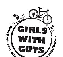 Girls with guts logo 2011 by swanstreet