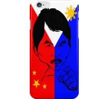PINOY KING: MANNY PACQUIAO iPhone Case/Skin