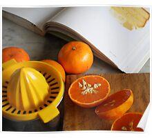 Mandarin Juicing Poster