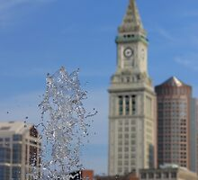 Water Fountains in Boston by Matthew Modica