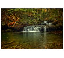 Quinn Run Falls Photographic Print